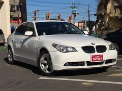 BMW5シリーズ 本革シート HDDナビ ETC HIDライト