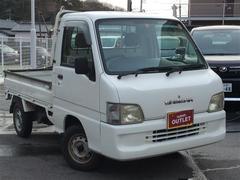 サンバートラックTB 4WD 5MT ワンオーナー エアコン パワステ