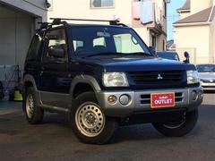 パジェロミニX 社外オーディオ 背面タイヤ ルーフレール