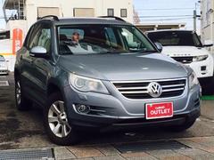 VW ティグアントラック&フィールド 4WD ワンオーナー HDDナビ