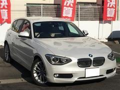 BMW1シリーズ ファッショニスタ ワンオーナー 革シート ETC