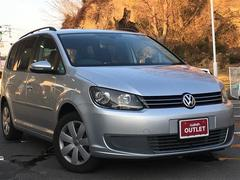 VW ゴルフトゥーランTSI コンフォートライン ワンオーナー HDDナビ
