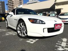 S2000後期型 赤革シート 純正17アルミ HIDライト キーレス