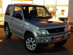 パジェロミニV 4WD 社外CD キーレス 15インチAW 背面タイヤ