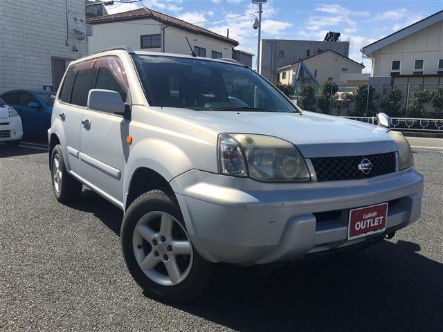 日産 X 4WD ETC DVD再生 DVDナビ CD・MD