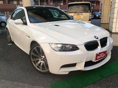 BMWM3 革シート カーボンルーフ ETCメーカーオプションナビ