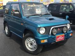 パジェロミニVR−II 4WD 社外CDオーディオ 背面タイヤ