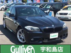 BMW5シリーズ Mスポーツ サンルーフ 革シート HDDナビ