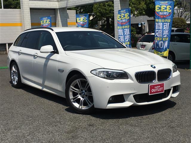 BMW 5シリーズ Bパフォ ツーリング Mスポーツ