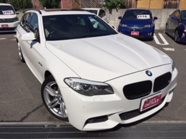 BMW 5シリーズ ツーリング Mスポーツ 本革シート サンルーフ