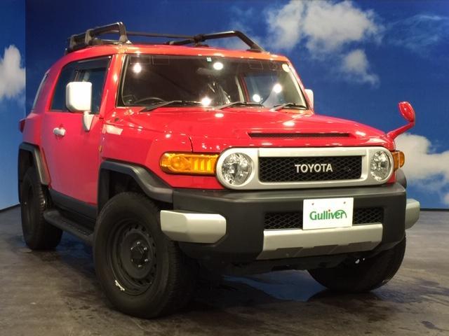 トヨタ レッドカラーパッケージ 4WD ナビ バックカメラ ETC