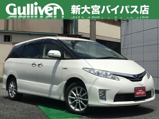 トヨタ G 1オーナ 禁煙 革シート HDD フルセグTV Bカメラ