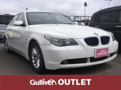 BMW525i ハイライン 左H 純正ナビ サンルーフ 革