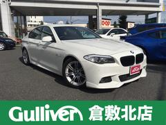BMW528i Mスポーツパッケージ 純正ナビ Bカメラ 革シート