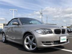 BMW1シリーズ カブリオレ 革シート ナビ ETC