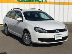 VW ゴルフヴァリアントTSI トレンドライン/1オナ Bカメラ Mナビ  ETC