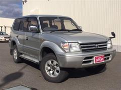 ランドクルーザープラドTX 4WD 軽油 社外ナビ DVD再生 下回り防錆塗装済