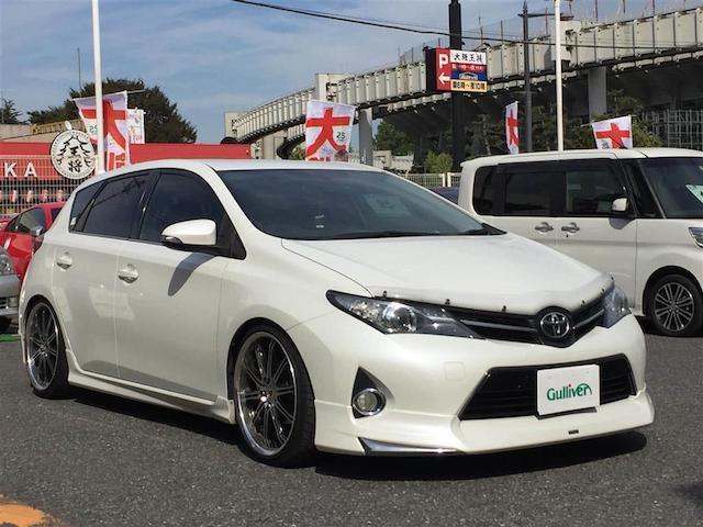 トヨタ 180G Sパッケージ 車高調 19AW ドラレコ