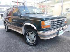フォード エクスプローラーエディバウアー ワンオーナー 正規D車 整備記録簿 禁煙車