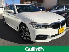 BMW5シリーズ Mスポーツ 純正HDDナビ フルセグ 本革シート