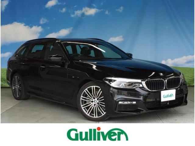 BMW 5シリーズ ツーリング Mスポーツ 純正HDDナビ フルセグ