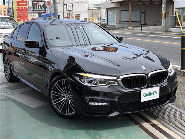 BMW 5シリーズ Mスポーツディーゼルターボ革シートヒーターナビ
