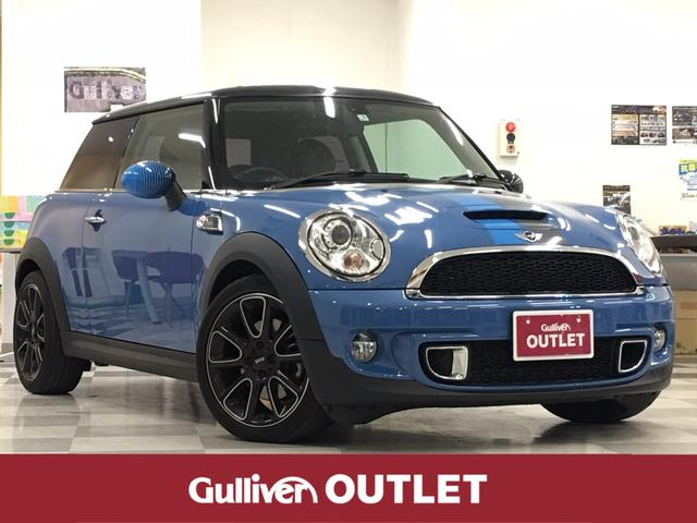 MINI 黒革シートパドルシフトETCシートヒーター純正AW