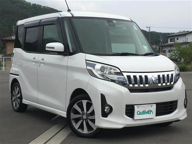 三菱 カスタムT e-アシスト 4WD 衝突軽減B 外ナビ