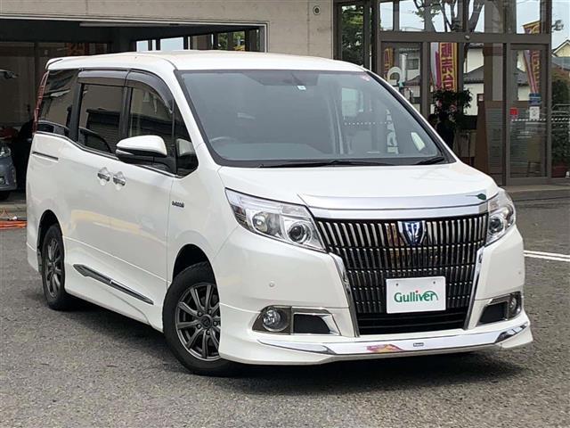 トヨタ Gi 両パワスラ 8型ナビ 天吊モニター 革シート