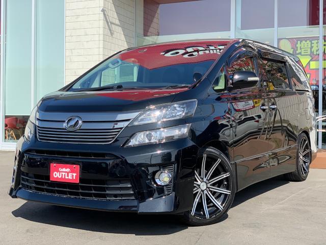 トヨタ 2.4Z Gエディション 車高調 20AW 後席モニター