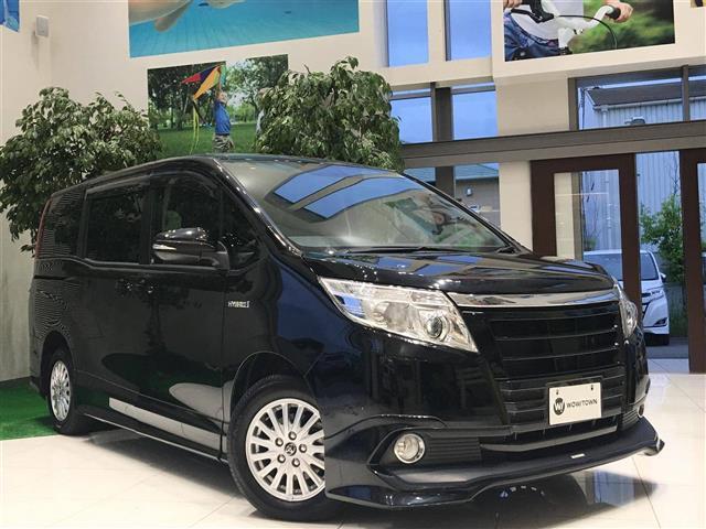 トヨタ ハイブリッドX ディライト+ 純正ナビ 両側パワスラ エアロ