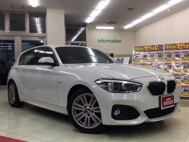 BMW 1シリーズ Mスポーツパッケージ 純正HDDナビ クルコン