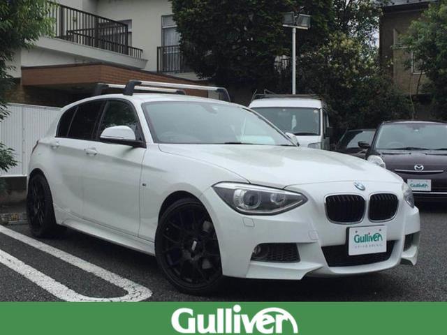 BMW 1シリーズ Mスポーツ ワンオーナー 純正ナビ Bカメラ