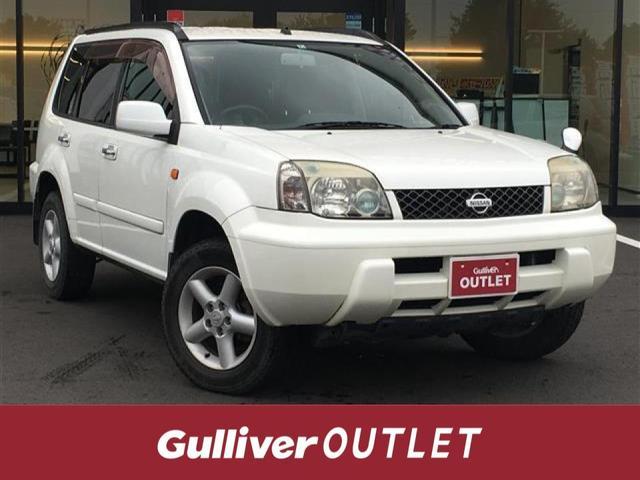 日産 Xt/4WD/本革シート/HDDナビ/アルミホイール