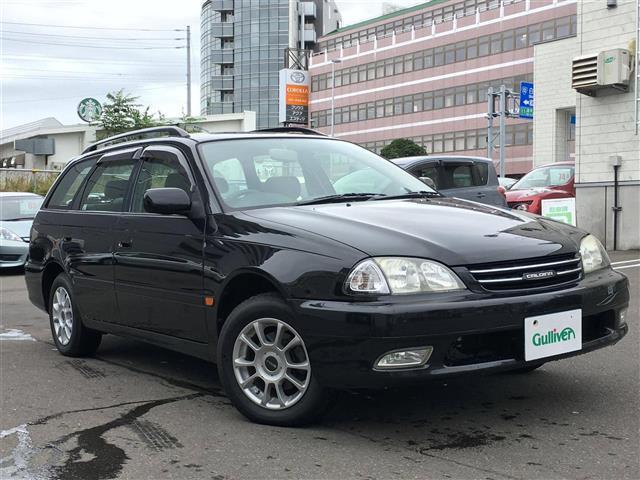 「トヨタ」「カルディナ」「ステーションワゴン」「北海道」の中古車