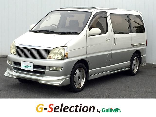トヨタ G EXパッケージ 前席対面シート 社外メモリナビ Pシート