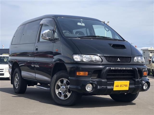 三菱 シャモニー 4WD ターボ 純正CDオーディオ キーレス