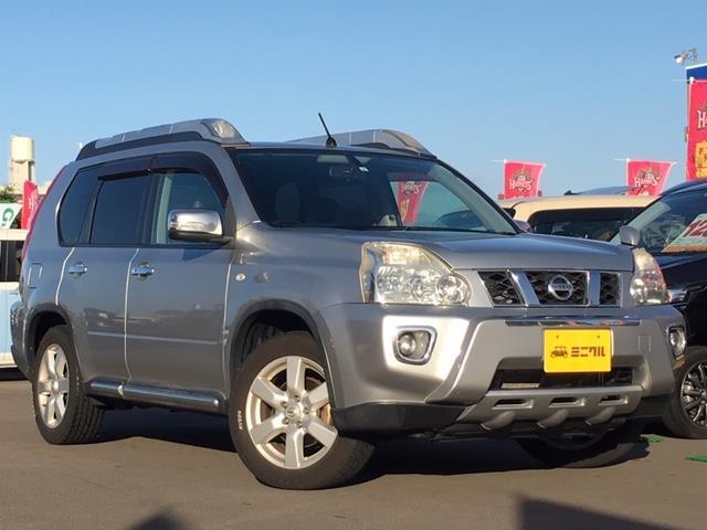 日産 20S 4WD社外HDDナビ フルセグTV 本革シートETC