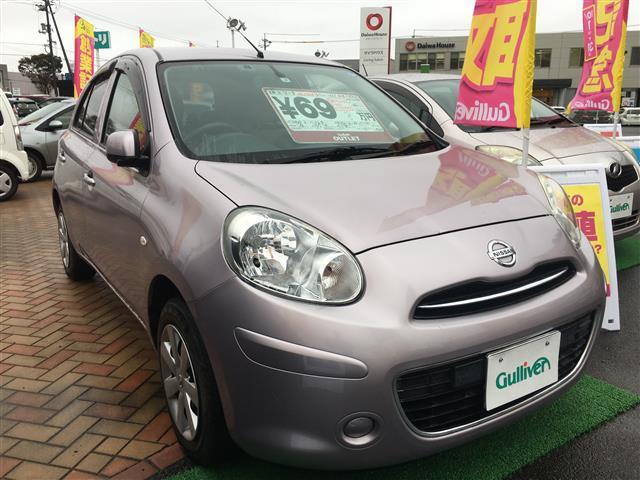 「日産」「マーチ」「コンパクトカー」「鳥取県」の中古車