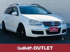 VW ゴルフヴァリアント社外SDナビ ワンセグTV サンルーフ ルーフレール