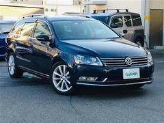 VW パサートヴァリアントヴァリアント TSI ハイラインBM 革シート ワンオーナー