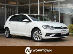 VW ゴルフTSIコンフォートライン 純正ナビ 衝突軽減 レーンアシスト