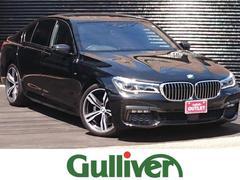 BMW740i Mスポーツ サンルーフ レザーシート シートヒータ