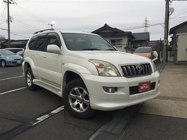 「トヨタ」「ランドクルーザープラド」「SUV・クロカン」「福井県」の中古車