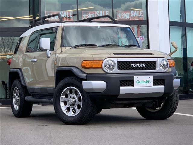 「トヨタ」「FJクルーザー」「SUV・クロカン」「和歌山県」「ガリバー和歌山バイパス店」の中古車