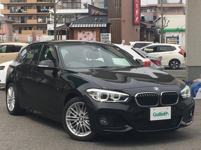 BMW 1シリーズ Mスポーツ 純正ナビ/DVD/BT/Bカメラ