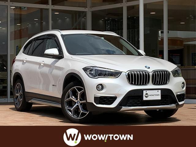 BMW X1 xDrive18dxライン 純正HDDナビ/電動Rゲート