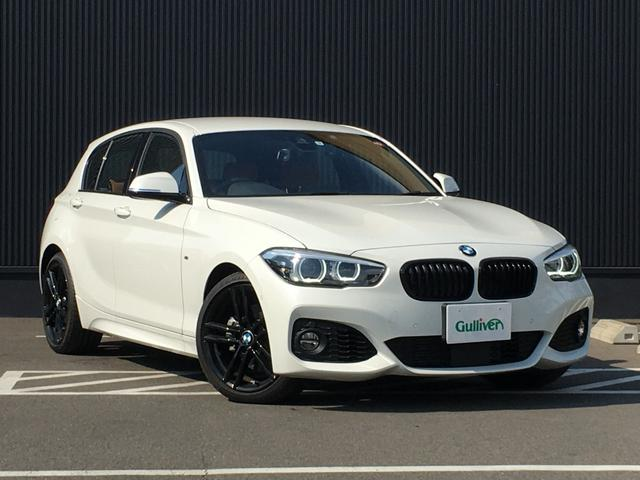 BMW 1シリーズ Mスポーツ エディションシャドー 茶革 衝突軽減