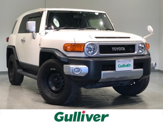 トヨタ FJクルーザー オフロードパッケージ 4WD ワンオーナー ナビTV