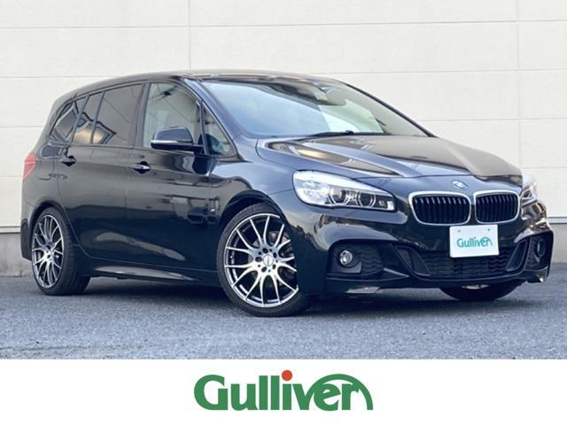 BMW 2シリーズ 218dグランツアラー Mスポーツ 純正HDDナビ RAYS19inAW バックカメラ プッシュスタート ステアリングスイッチ ウィンカーミラー パワーバックドア フォグライト
